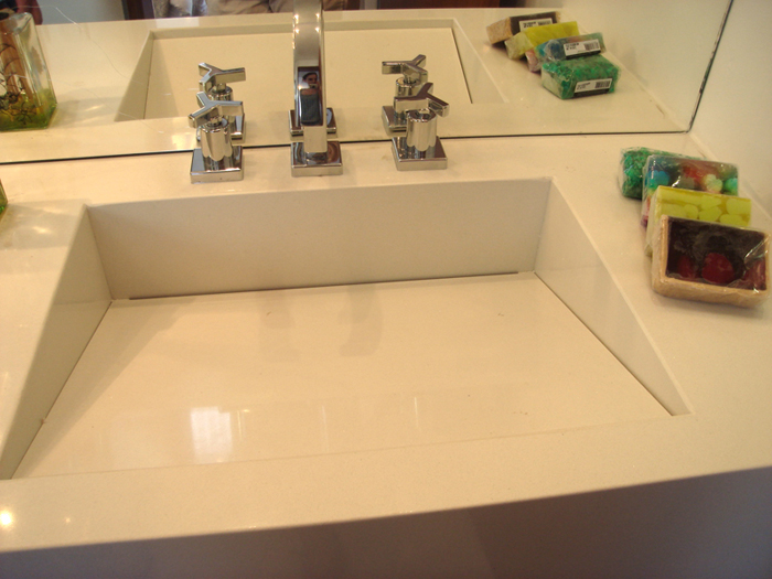 Arquivos concreto  Casa BaunilhaCasa Baunilha -> Como Instalar Pia De Banheiro Com Coluna Suspensa