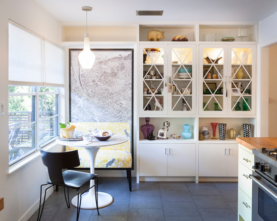 Buffet Para Sala De Jantar Vintage ~ Kitchens With Banquette Seating 25 Kitchen Window Seat Ideas Home